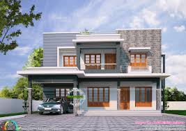 Kerala Home Design Thrissur by 2085 Sq Ft Flat Roof 4 Bhk Home Kerala Home Design Bloglovin U0027
