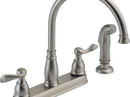 sink u0026 faucet stunning nickel kitchen faucet forte single handle