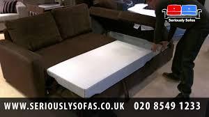 Corner Unit Sofa Bed Lullington Compact Corner Unit U0026 Sofabed Youtube