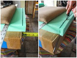 Diy Foam Upholstery Supplies How To Reupholster A Dining Chair Seat Diy Tutorial U2014 The