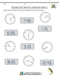 telling time worksheets 3rd grade worksheets