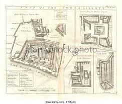 london map 18th century stock photos u0026 london map 18th century