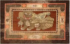 fu dogs antique 17th century fu dogs rug 48301 foo dog rug fu dog