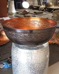 bathroom sinks copper handmade rezzeqi artisan copper u0026 brass