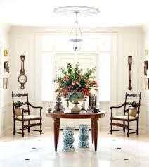 round foyer table decorating ideas christmas entryway decor