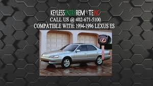 lexus key fob cover replacement how to replace lexus es key fob battery 1994 1995 1996 youtube