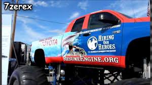 bigfoot monster truck logo toyota tundra monster truck phoenix international raceway 2 28