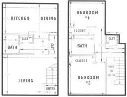 2 Bedroom Apartments In Albuquerque City View Townhouse Apartments Rentals Albuquerque Nm