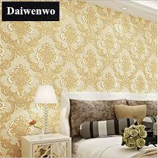 luxury livingroom w18 luxury livingroom wallpaper gold 3d paper wall papel de parede