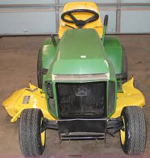 john deere 210 lawn tractor item v9248 sold january 23