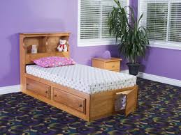 twin bed with bookcase headboard and footboard modern twin bed