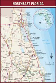 Map Of North Florida Counties Northeast Florida Road Map Bunnell Florida U2022 Mappery