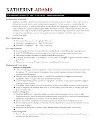 Sample Resume For Warehouse Manager by Project Manager Resume Best Free Resume Collection