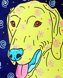 Weimaraner Paint Color Pottery Barn 71 Best Audra Style Paintings Images On Pinterest Hippie Art