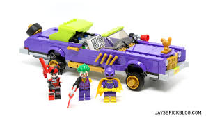 batman car toy review lego 70906 the joker notorious lowrider