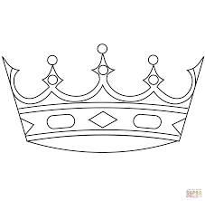 crown coloring page 3205