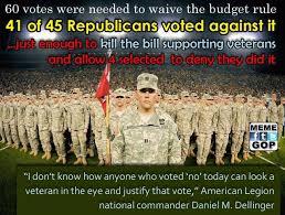 Gop Meme - republicans do not like our veterans meme gop org