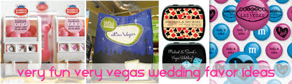 Vegas Wedding Favors by Favor Ideas For Your Vegas Wedding