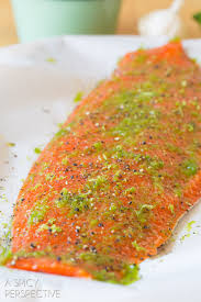 Bake Salmon In Toaster Oven Garlic Lime Oven Baked Salmon A Spicy Perspective