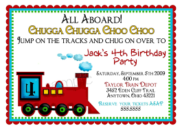 Invitation Cards Birthday Party Top 12 Train Birthday Party Invitations Theruntime Com