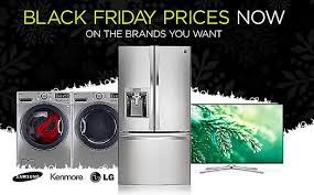 appliances black friday sears black friday sale offers more selections from kenmore