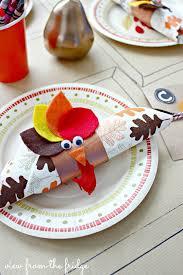 thanksgiving dinner napkins 33 colorful thanksgiving crafts for kids napkin holders