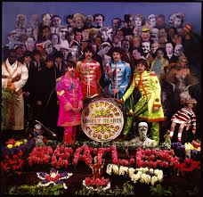 sargeant peppers album cover the cover for sgt pepper s lonely hearts club band the beatles
