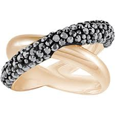 swarovski rings black images Rings exclusively on