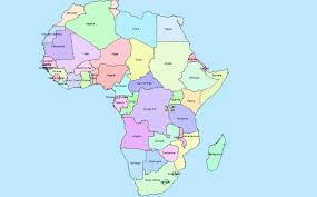 Africa Map With Countries by Hector Funes Es10 Csun Gis Gis Lab 5b Map