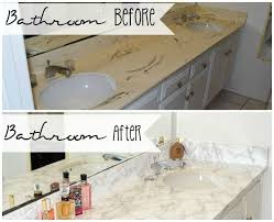 Bathroom Sink Makeover - master bathroom faux marble makeover in the home hometalk