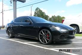 maserati vossen maserati ghibli with 22in vossen cvt wheels exclusively from