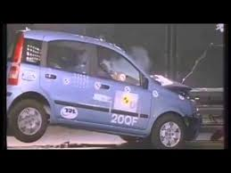crash test siege auto 0 1 crash test fiat panda 2004