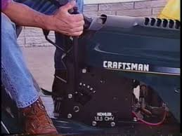 craftsman lawn u0026 garden tractor use and maintenance guide vhs