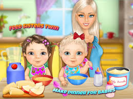 sweet baby twin sisters android apps on google play