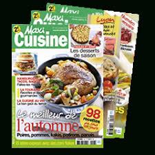 abonnement magazine de cuisine comment s abonner au magazine culinaire cuisine à croquer les