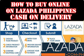 how to buy online on lazada cash on delivery in philippines