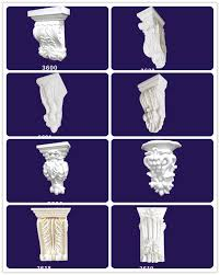 Home Decor Material by Pu Corbel Home Decor Material Polyurethane High Quality Pu Carves