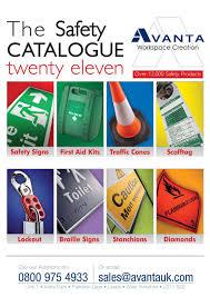 Patio Heater Hss A Ss Parts by Avanta Safety Catalogue By Avanta Uk Ltd Issuu