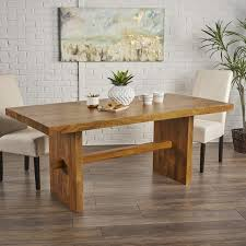 mango wood dining table foundry select burkhardt mango wood dining table reviews wayfair