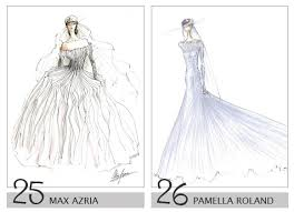 royal wedding dress sketches world s top designers sketch royal