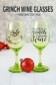 wine glass svg grinch wine glasses free cut file that u0027s what che said