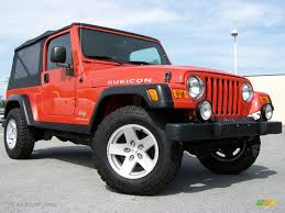 jeep wrangler orange 2006 impact orange jeep wrangler unlimited rubicon 4x4 12034188