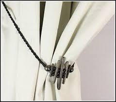 Metal Curtain Tiebacks Curtain Tie Back Hooks 2pcs Flower Pattern Curtain Tieback