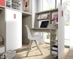 bureau superposé lit superposé enfant avec armoire et bureau amovible meubles ros