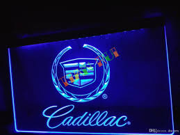 lg041 cadillac neon light sign home decor shop crafts led sign