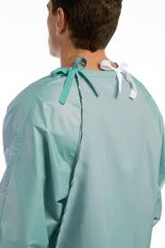 Reusable Surgical Drapes Surgeon Gown Standard Risk Comfort Back Sg301 Cromptons