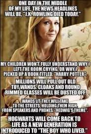 Meme Daily - j k rowling s response to fan who made heartwarming meme daily