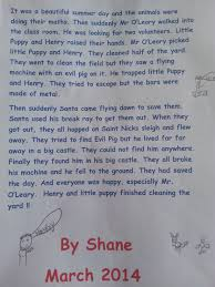 what colour paper did roald dahl write on st kevin s national school sallynoggin shane story