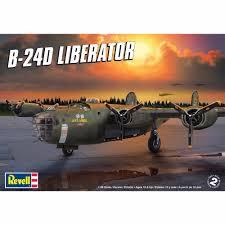 revell 1 48 scale b 24d liberator model kit walmart com