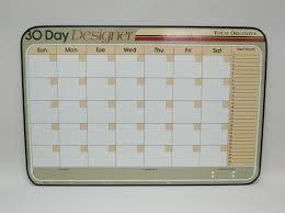 design planner co 30 day design tan horizontal planner frames direct com